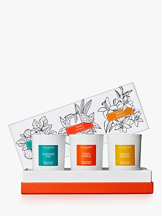 Clarins Mini Candle Trio Collection