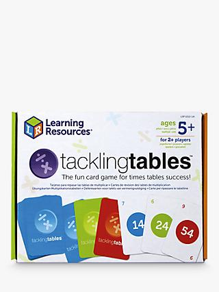 Learning Resources tacklingtables Card Game