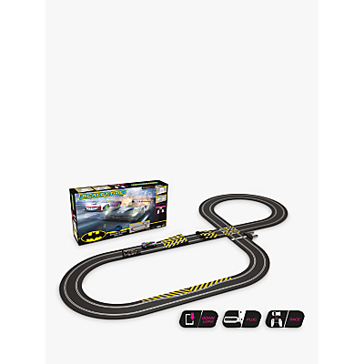Scalextric C1415M Spark Plug - Batman vs Joker Slot Car Racing Set