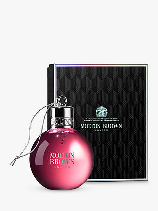 Buy Molton Brown Fiery Pink Pepper Festive Bauble, 75ml Online at johnlewis.com