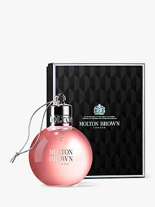 Molton Brown Delicious Rhubarb and Rose Festive Bauble, 75ml