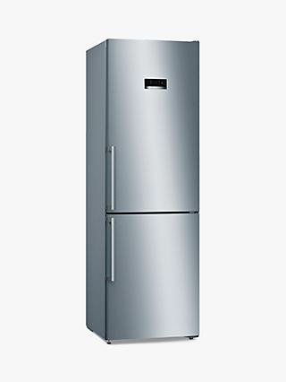 Bosch Serie 4 KGN36XLER Freestanding 60/40 Fridge Freezer, Stainless Steel Effect