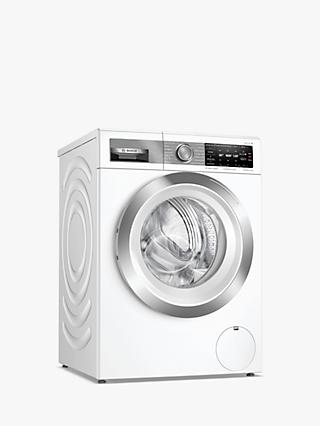 Bosch Serie 8 WAX32GH4GB Freestanding Washing Machine, 10kg Load, 1600rpm Spin, White