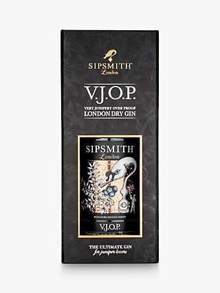 Sipsmith VJOP Gin Gift Box, 70cl