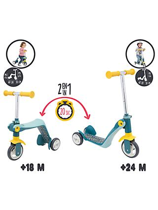 Smoby 2-in-1 Switch Scooter