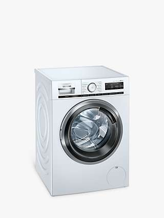 Siemens iQ500 WM14VPH3GB Freestanding Washing Machine, 9kg Load, 1400rpm Spin, White