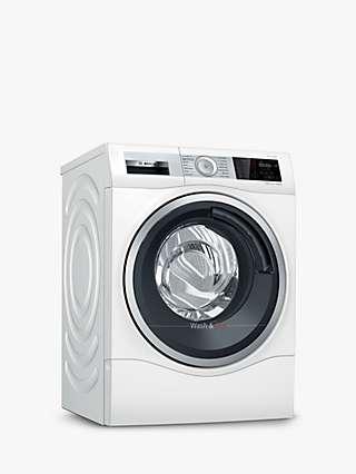 Bosch Serie 6 WDU28561GB Freestanding Washer Dryer, 10kg Wash/6kg Dry Load, 1400rpm Spin, White