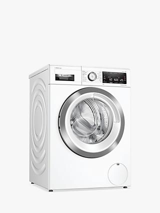 Bosch Serie 8 WAX32LH9GB Freestanding Washing Machine, 9kg Load, 1600rpm Spin, White