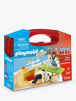 Playmobil City Life 5653 Vets Carry Case