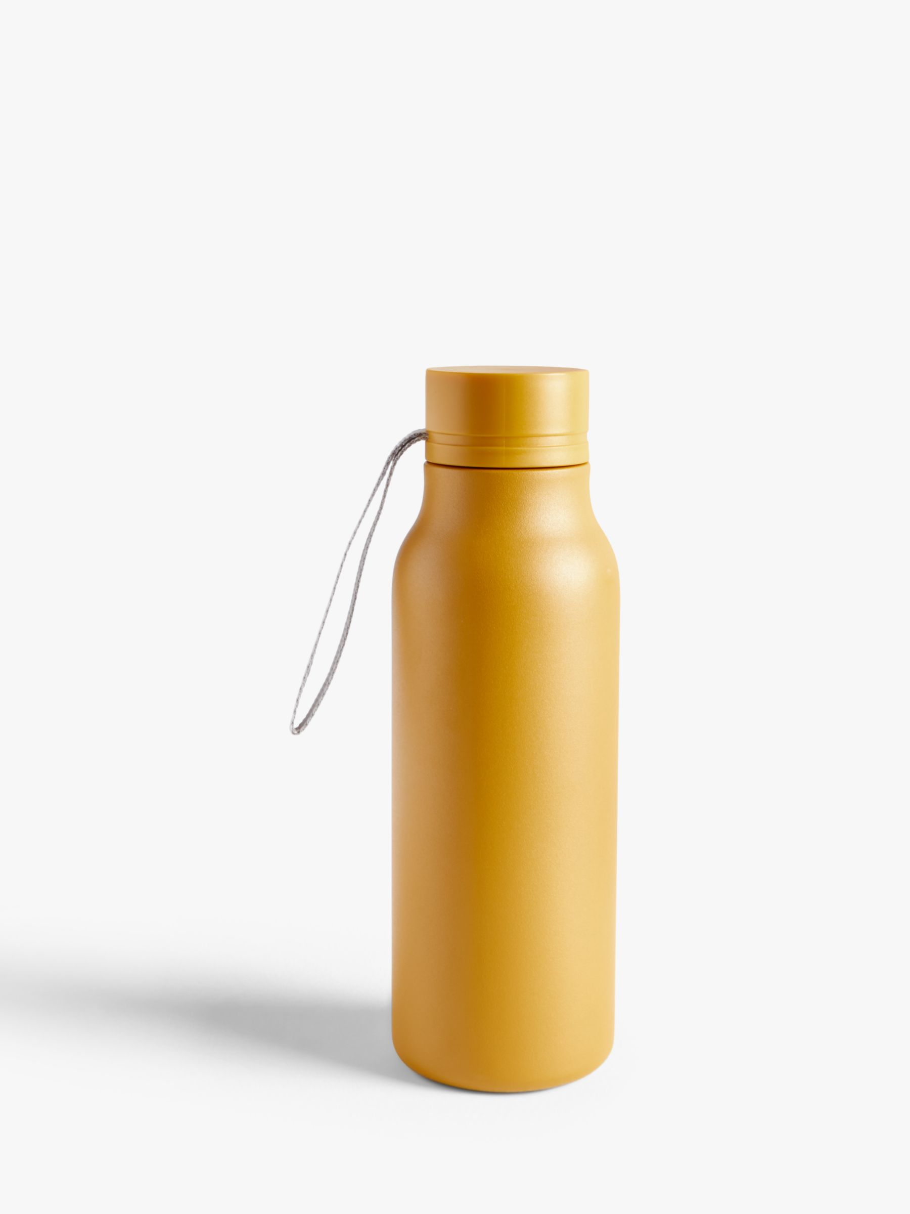 John Lewis & Partners Double Wall Stainless Steel Leak-Proof Drinks Bottle, 500ml