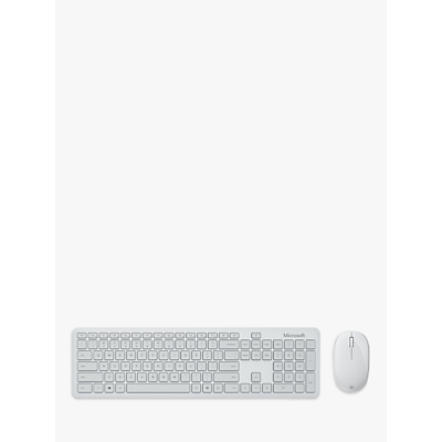 Image of Microsoft Bluetooth Desktop, Wireless Keyboard and Mouse Set, Monza Grey