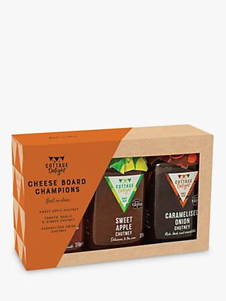 Cottage Delight Cheese Board Champions Chutney Set