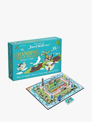 The World of David Walliams Grandpa's Great Escape Board Game