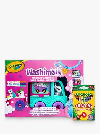 Crayola Washimals Pets Mobile Spa