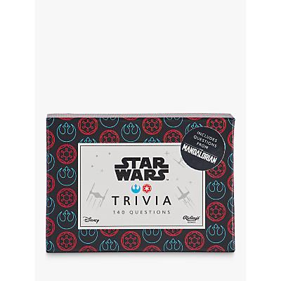 Disney Star Wars Trivia Game