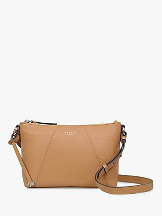 Radley Wood Street Medium Leather Zip Top Cross Body Bag