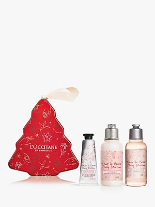 L'Occitane Cherry Blossom Festive Bauble Bodycare Gift Set