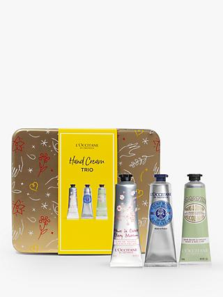 L'Occitane Hand Cream Trio Festive Collection Bodycare Gift Set