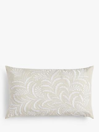 John Lewis & Partners Jouvene Cushion, Natural