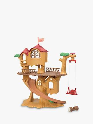 Sylvanian Families Adventure Tree House Set