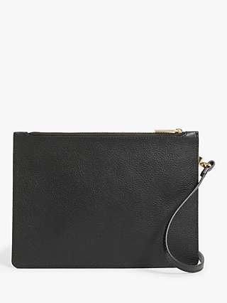 John Lewis & Partners Multi Pouch Leather Cross Body Bag