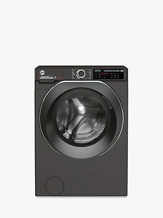 Hoover H-Wash 500 HDD 4106AMBCR-80 Freestanding Washer Dryer, 10kg Wash/6kg Dry Load, A Energy Rating, 1400rpm Spin, Graphite