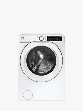 Hoover H-Wash 500 HW 412AMC/1-80 Freestanding Washing Machine, 12kg Load, 1400rpm Spin, White