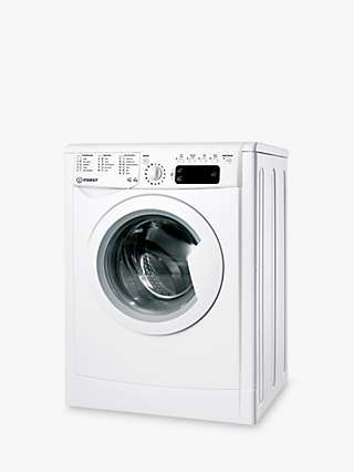 Indesit IWDD 75125 Freestanding Washer Dryer, 7kg Wash/5kg Dry Load, 1200rpm Spin, White