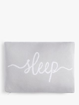 "John Lewis & Partners ""Sleep"" Cushion, Natural"