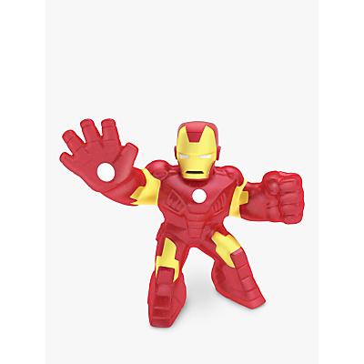 Heroes Of Goo Jit Zu Marvel Iron Man Squishy Action Figure