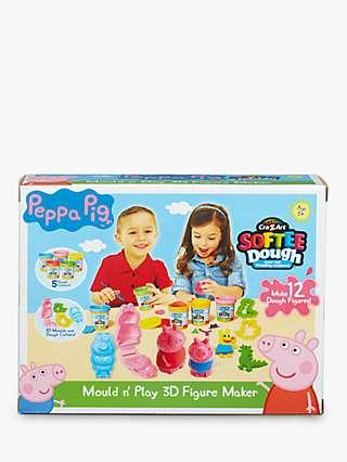 Peppa Pig Mould N' Play 3D Figure Maker Set