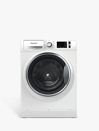Hotpoint NM11 945 WC A UK N Freestanding Washing Machine, 9kg Load, 1400rpm Spin, White