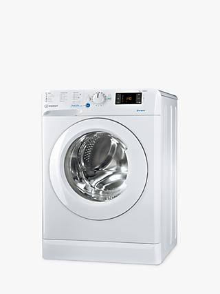 Indesit Innex BWE 71452 W Freestanding Washing Machine, 7kg Load, 1400rpm Spin, White