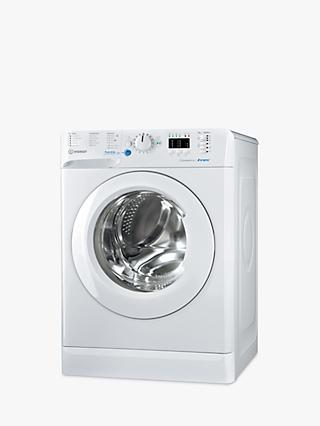 Indesit Innex BWA 81484X W Freestanding Washing Machine, 8kg Load, 1400rpm Spin, White