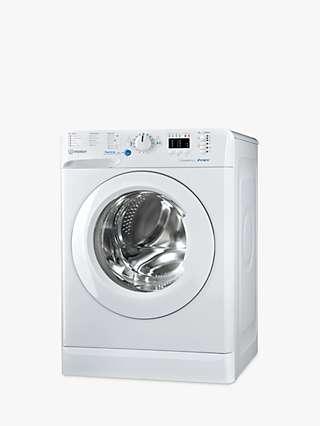 Indesit Innex BWA 81484X W Freestanding Washing Machine, 8kg Load, 1400rpm Spin, White