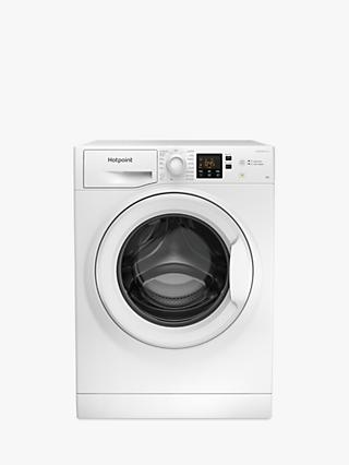 Hotpoint NSWM 843C W Freestanding Washing Machine, 8kg Load, 1400rpm Spin, White