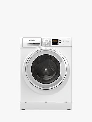 Hotpoint NSWM 943C W Freestanding Washing Machine, 9kg Load, 1400rpm Spin, White