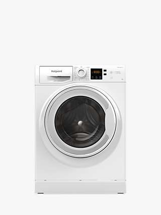 Hotpoint NSWM 943C W Freestanding Washing Machine, 9kg Load, 1400rpm Spin, White