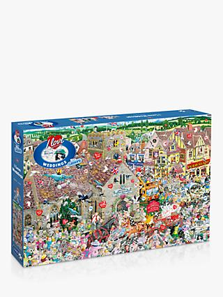 Gibsons I Love Weddings Jigsaw Puzzle, 1000 Pieces