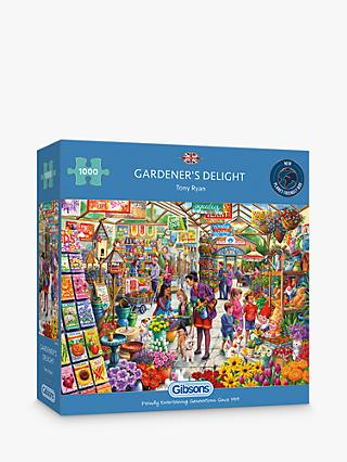 Gibsons Garden Delight Jigsaw Puzzle, 1000 Pieces