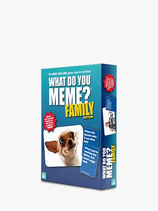 What Do You Meme? Family Party Game