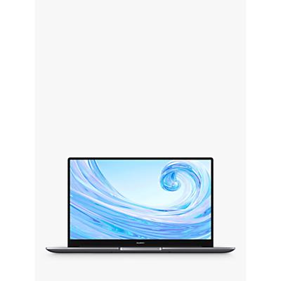 "Image of Huawei Matebook D 15 2020 Laptop, AMD Ryzen 5 Processor, 8GB RAM, 256GB SSD, 15.6"" FullView Display, Grey Charcoal"