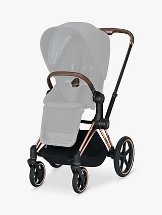 Cybex Priam Pushchair Chassis, Rose Gold