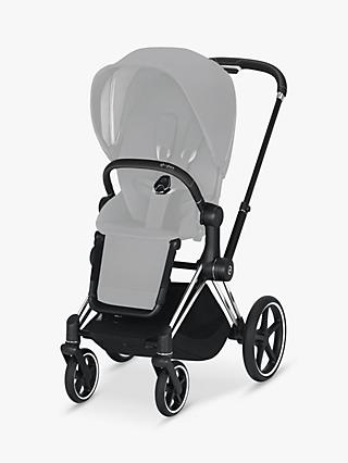 Cybex Priam Pushchair Chassis, Chrome/Black