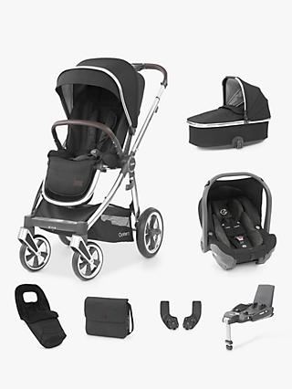 Oyster 3 Luxury 7 Piece Pushchair Bundle - Caviar/Mirror