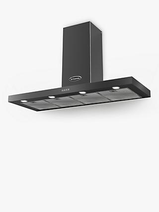 Britannia Poetico 120cm Chimney Cooker Hood, A+ Energy Rating