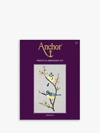 Anchor Blue Tits Embroidery Kit