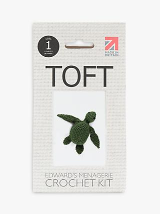 TOFT Mini Kat The Turtle Crochet Kit