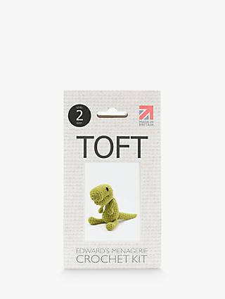TOFT Mini Gregor The T-Rex Crochet Kit