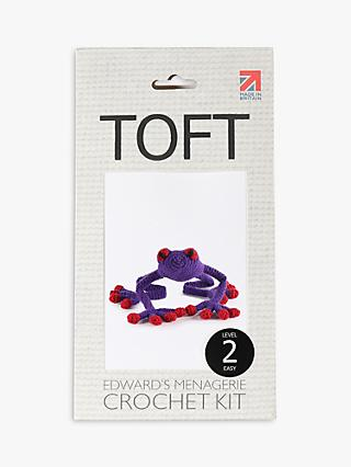 TOFT Gretchen The Frog Crochet Kit